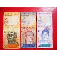 Сборка  банкноты Венесуэлы 2007г.