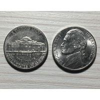 США, 5 центов 2001 D