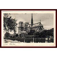 PARIS ~ Нотр Дам ~ Старинная открытка ~