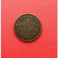 53-21 Нидерланды, 1 цент 1937 г.