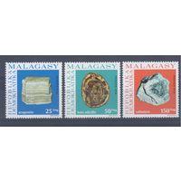 [93] Мадагаскар 1976. Геология.Минералы.