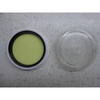 Светофильтр жёлтый Ж-1.4х 49х0.75 мм в футляре