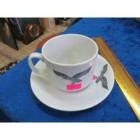 Чашка с блюдцем для Люфтваффе. Реплика.