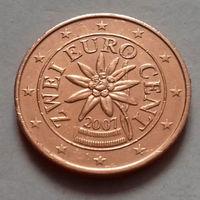 2 евроцента, Австрия 2007 г.
