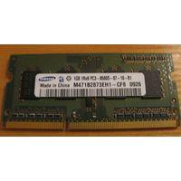 Оперативная память 1gb DDR3-8500 Samsung original