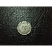 "50 пфеннигов 1981 ""G"" - Карлсруэ"