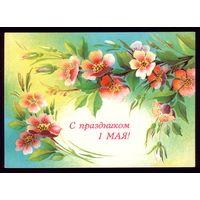 1987 год Л.Похитонова С праздником 1 мая! чист