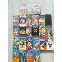 Детские мультики видео кассеты бу и видеоплеер