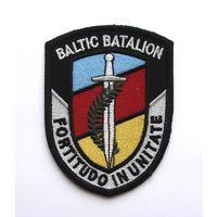 "Шеврон международного миротворческого батальона ""Балтбат"", (распродажа коллекции)"