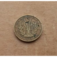 Западная Африка, 5 франков 1978 г.