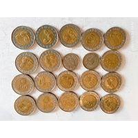 Монеты Португалии с рубля.