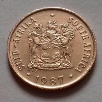 1 цент, ЮАР 1987 г., AU