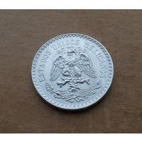 Мексика, песо 1943 г., серебро