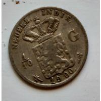 Голландская Ост-Индия 1/10 гульдена, 1900 1-7-26