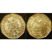 Австрия  5 евро 2010 г
