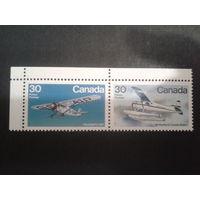 Канада 1982 самолеты сцепка