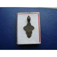 Редкий старинный нательный крестик       (3233)