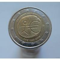 2 евро 2009 Греция 10 лет евро