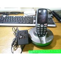 Радиотелефон Thomson (битый экран)