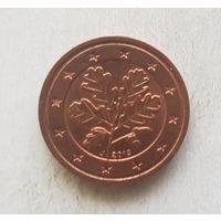 2 евроцента 2013 Германия J