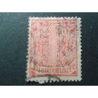 Германия 1920 служебная марка 30