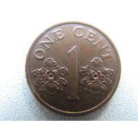 Сингапур 1 цент 1995 г.