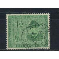 Лихтенштейн 1953 Роберт Баден-Пауэлл - основатель скаутского движения #315