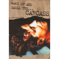 """DVD -CARCASS - """" WAKE UP AND SMELL..."""" MOSH 247 DVD - UK/ 2001.+ BOOKLET."""