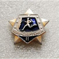 Значок. Воин - спортсмен 2-я степень #0159-SP3