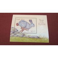 ЮАР 1999г. Китайский Новый Год - Год Кролика, Чист**