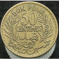Тунис 50 сантимов 1921 (294)