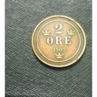 2 эре 1902 Швеция