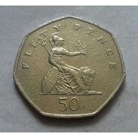 50 пенсов, Великобритания 1997 г.