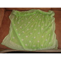 Брендовый шелковый платок jaeger, италия, 77х81 см.