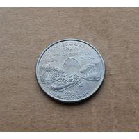 США, квотер 2003 г., штаты, Миссури, Р