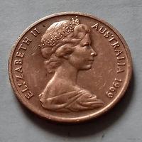 1 цент, Австралия 1969 г.