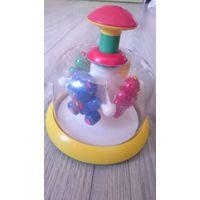 """Юла-карусель Стеллар """"Домашние любимцы"""" - интересная игрушка для вашего малыша."""