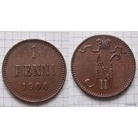 1 пенни НII 1900г.