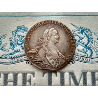 Монета РИ, 1 рубль 1775. Выкус.