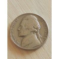 США 5 центов 1964г. б/б