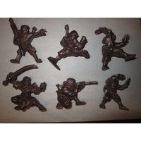 Солдатики редкие  . Ниндзя