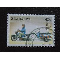 Зимбабве 1990г. Мото.