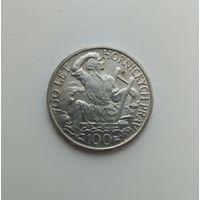 ЧЕХОСЛОВАКИЯ  100 крон 1949 г.