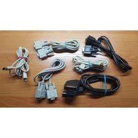Компьютерный шнур (кабель) LPT  VGA  SCART AUDIO, переходники PS/2  S-VIDER и другое