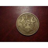 10 центов 1985 Кипр
