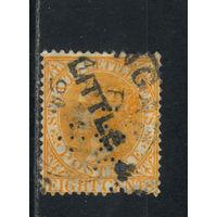 GB Колонии Малайя Стрейтс Сетлментс 1882 V Стандарт #33