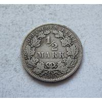 Германия 1/2 марки 1905 A (Берлин) 2