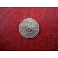 1 франк 1990