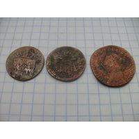 Монеты грош 1831г.комплект- Польское восстание- Копия 1831года- медь. RRRRR
