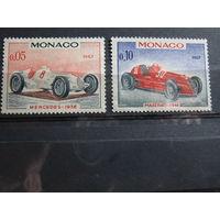 Марки - транспорт, машины, автомобили, техника - Мерседес Мазератти - Монако 1967